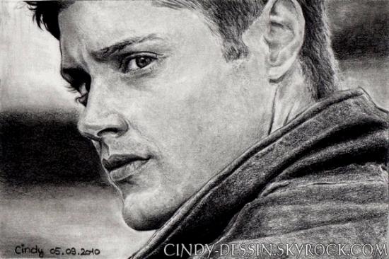 Jensen Ackles by cindy-dessin